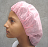 Rayon Disposable Bouffant Caps-Pink