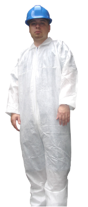 Polycoated Disposable Coveralls