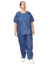 Disposable Scrub Shirts & Scrub Pants Set