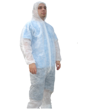 Polypropylene Disposable Hooded Coveralls OUT OF STOCK