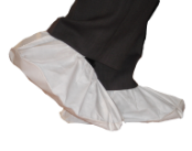Polycoated Non-Skid Vinyl Sole Disposable Shoe Covers OUT OF STOCK