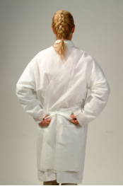 Disposable Isolation Gowns White