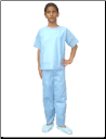 Childrens SMS Scrub Shirts & Scrub Pants Sets