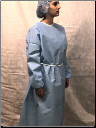 Disposable Isolation Gowns-Blue XL