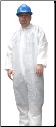 Polycoated Disposable Coveralls OUT OF STOCK