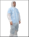 Polypropylene Disposable Hooded Coveralls